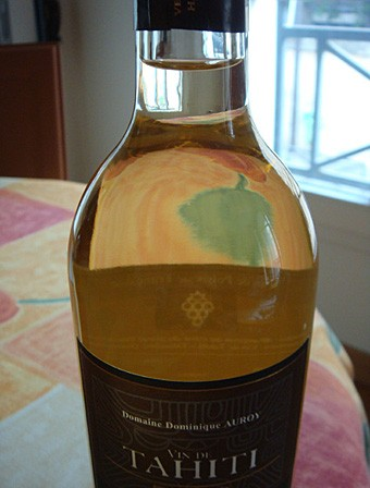 Vin de Tahiti bouteille