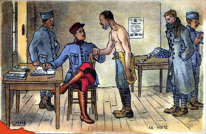 1914 officier pantalon garance et soldat