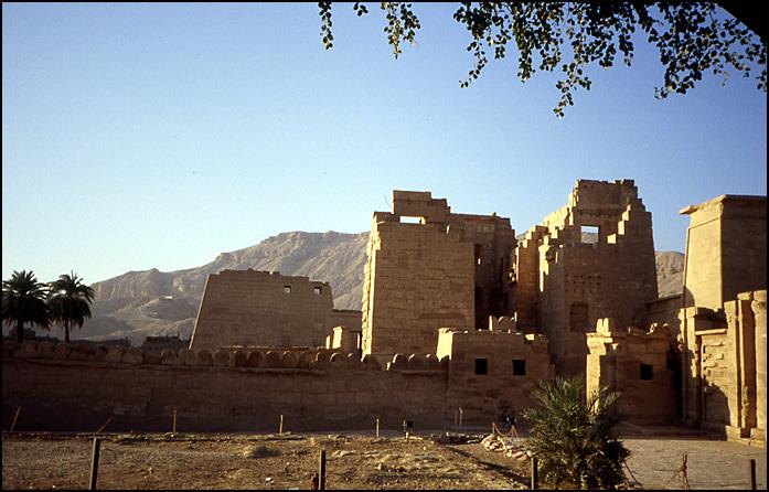 Egypte Medinet Habou