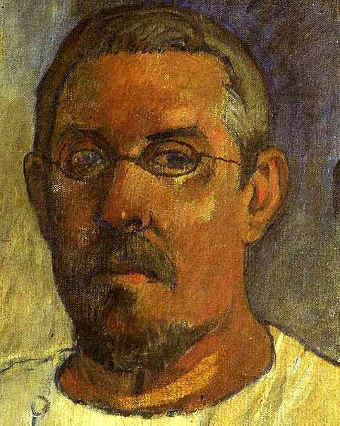 paul gauguin autoportrait 1903