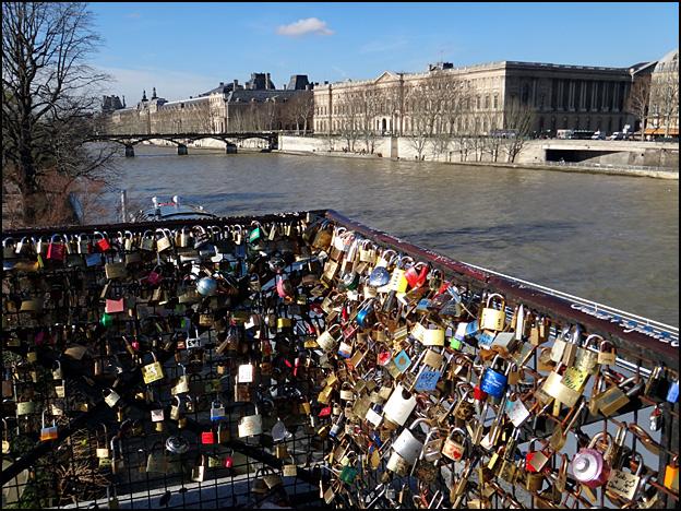 Cadenas amoureux pont neuf argoul - Cadenas amoureux pont paris ...
