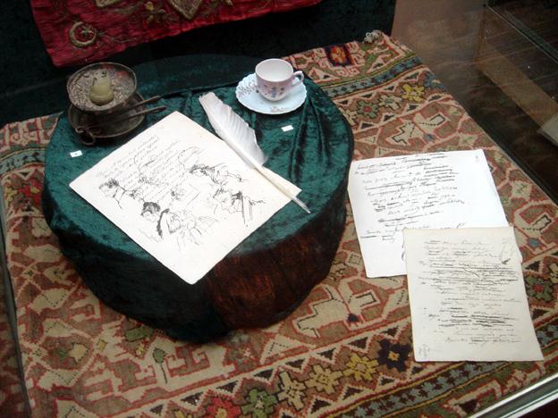 Bakhtchisaraï ecritoire palais du khan