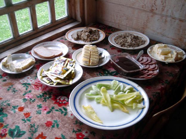 beurre et sucre des carpates