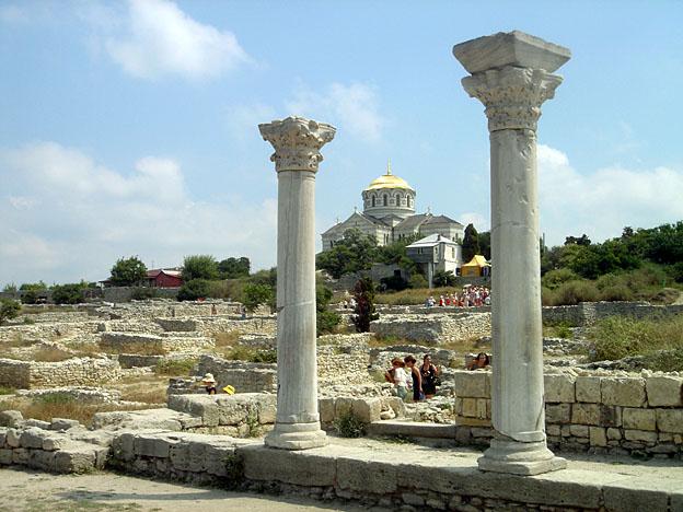 Chersonese grecque pres sebastopol