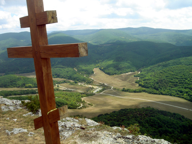 croix orthodoxe mangup kale crimee