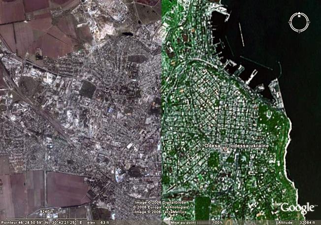 Odessa GoogleEarth