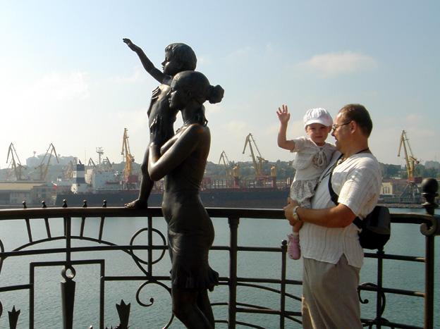 odessa statue au revoir