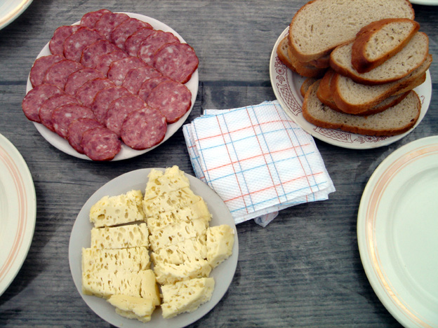 petit dejeuner des carpates