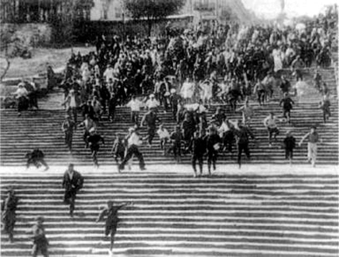 Potemkine escalier Odessa