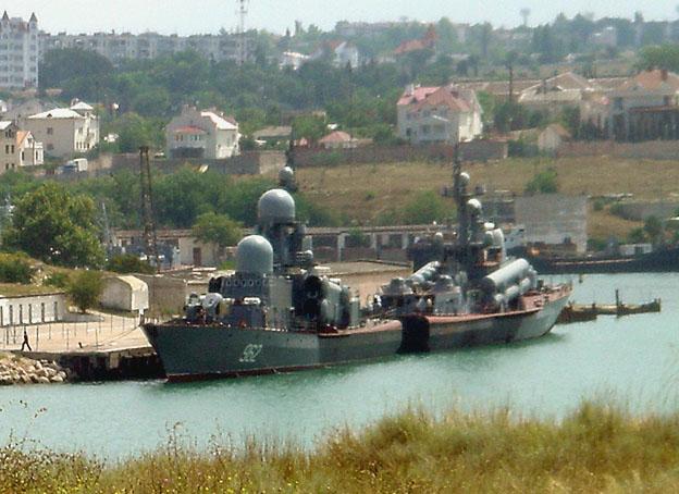 sebastopol bateaux de guerre russes