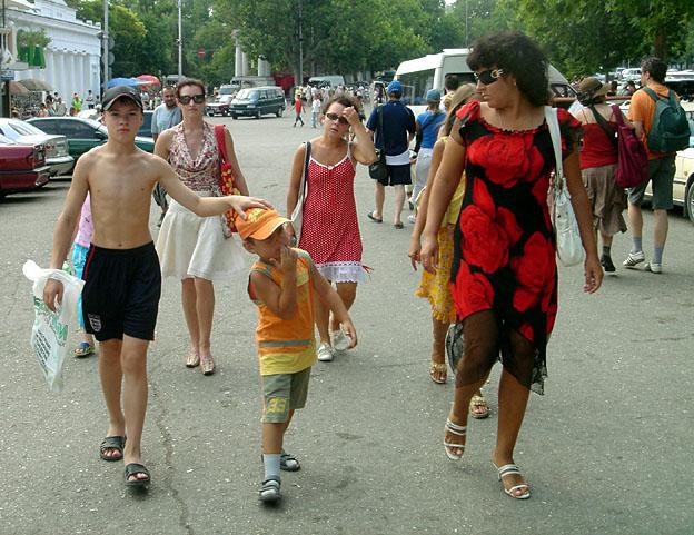 sebastopol famille russe
