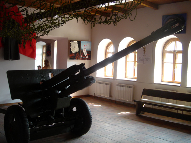 ukraine forteresse de kamianetz podolskiy canon autotracte allemand