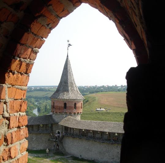 ukraine forteresse de kamianetz podolskiy cour