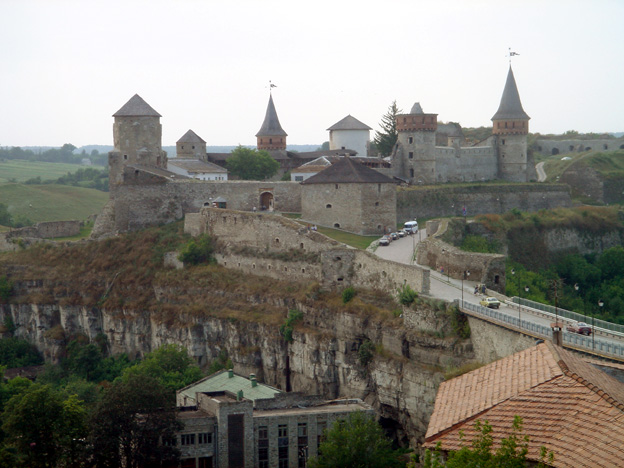 ukraine forteresse de kamianetz podolskiy