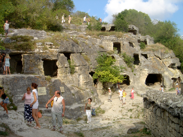 village troglodyte chufut kale