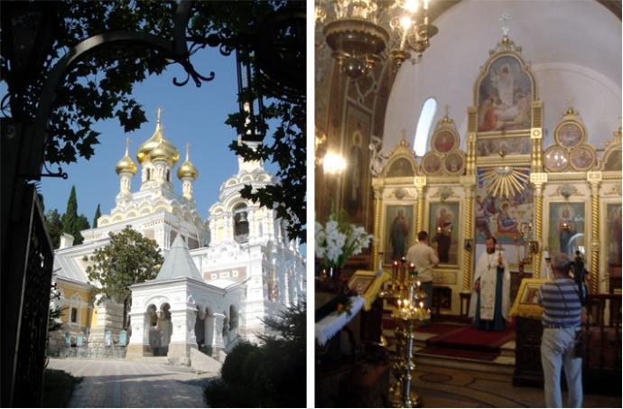 yalta eglise alexandre nevski