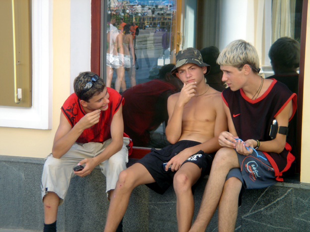 yalta jeunes russes
