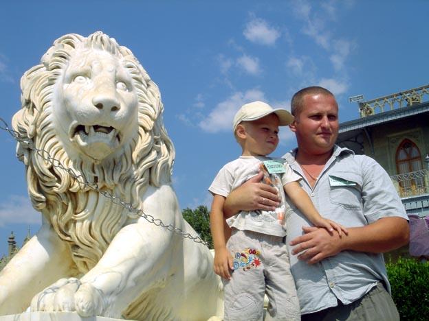 yalta palais vorontsov lion
