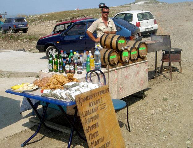 yalta plateau petri stand de bouffe
