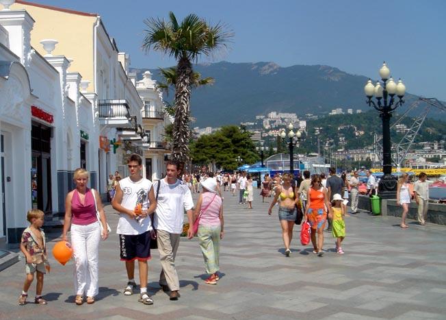 yalta promenade bord de mer