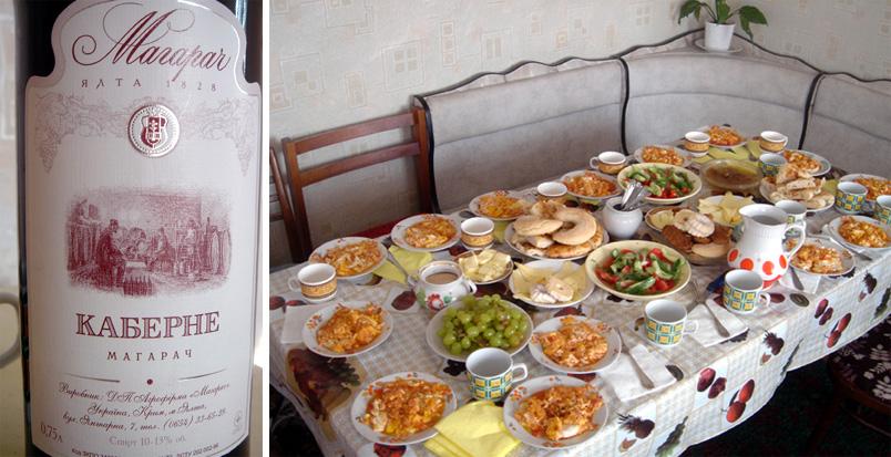 yalta vin de crimee et plats tatars
