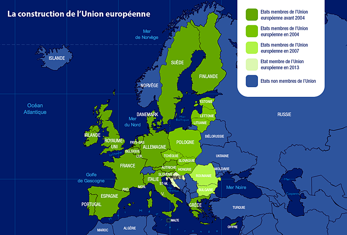 carte union europeenne 2013
