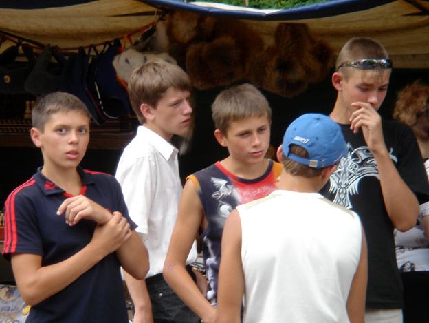 kiev jeunes garcons