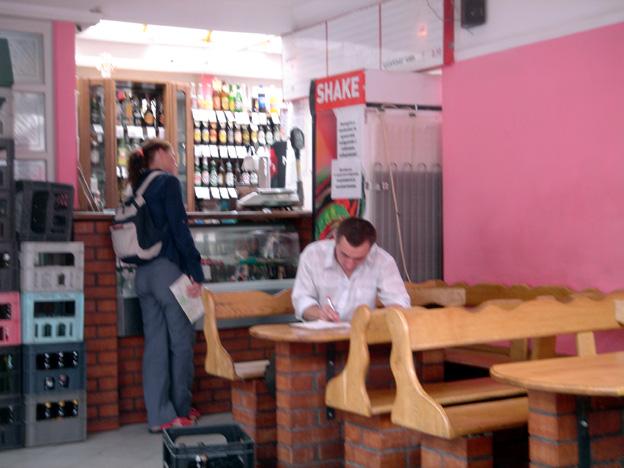 lvov ukraine cafe moderne