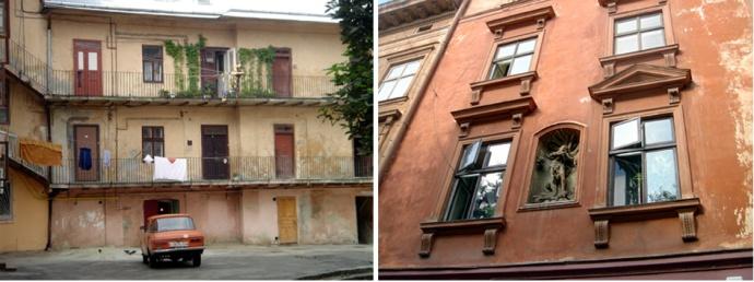 lvov ukraine facades