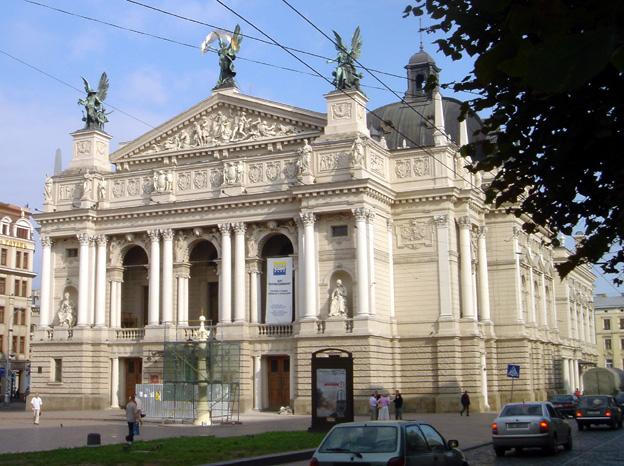 lvov ukraine opera