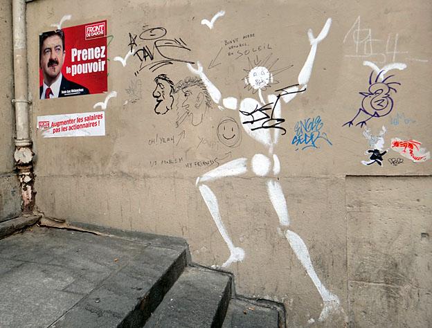 Paris melenchon rue des anglais