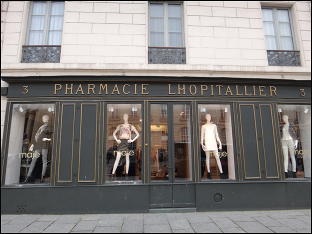 pharmacie mode place pantheon
