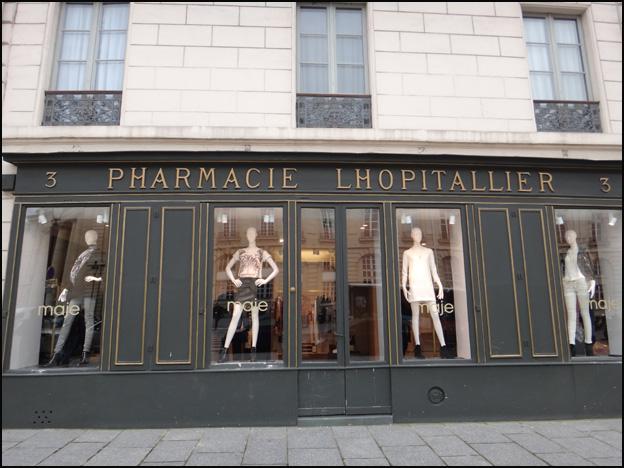 pharmacie mode place pantheon