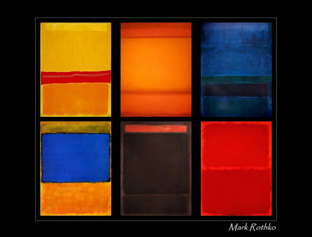 rothko art contemporain