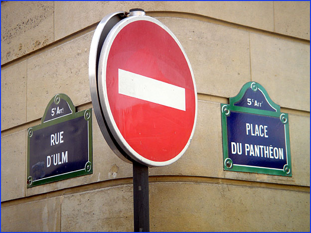 rue d ulm place du pantheon