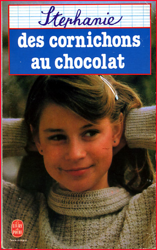 stephanie des cornichons au chocolat