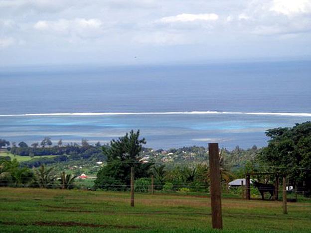 TAHITI DEPUIS LES HAUTEURS