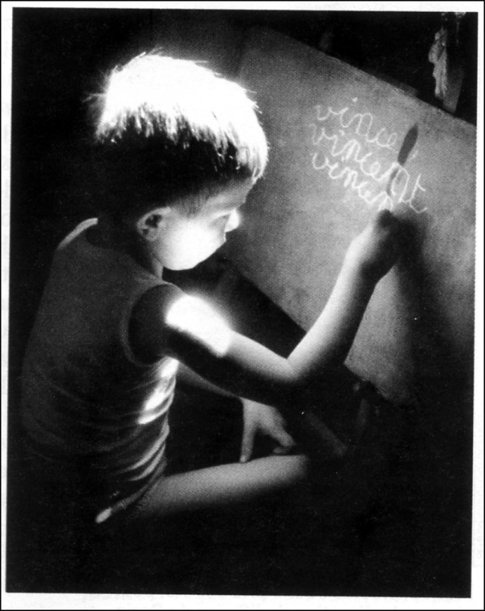 ecolier Willy Ronis Vincent