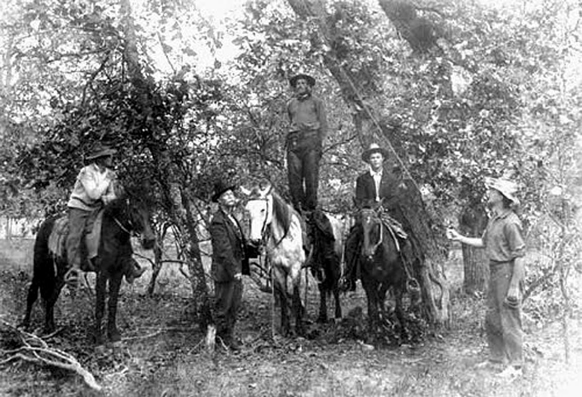 negre lynche au texas 1910