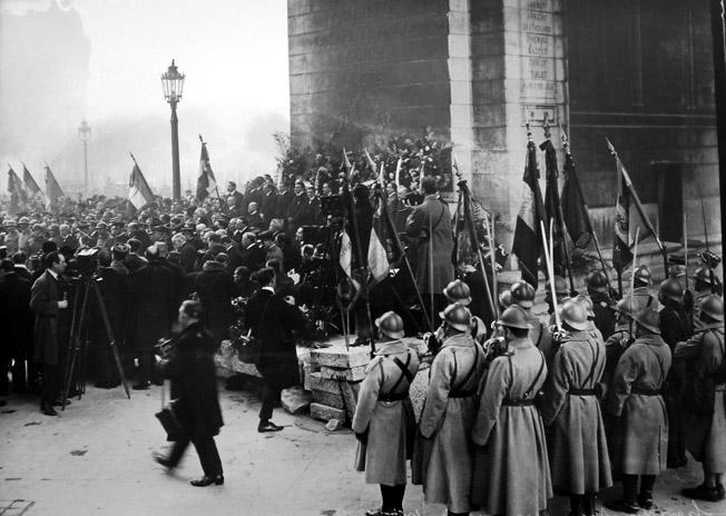 transfert cendres soldat inconnu 28 janvier 1921 senat expo 14-18 excelsior