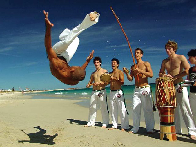 capoeira torse nu bresil