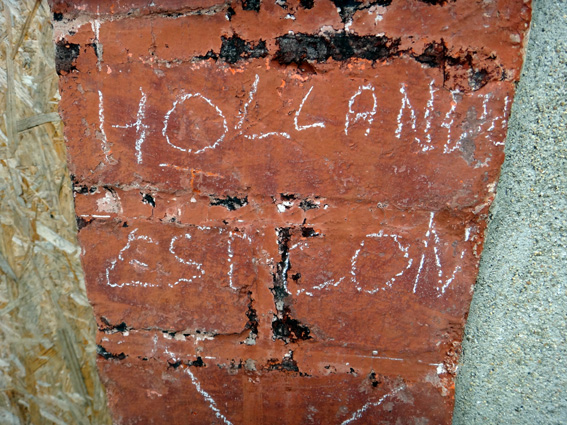 hollande sur un mur