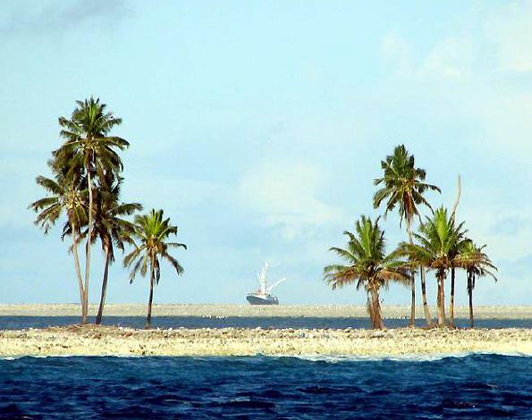 Clipperton peche mexicaine dans les eaux territoriales