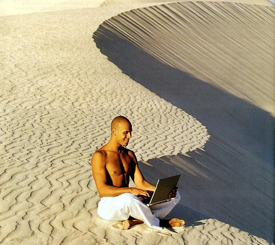 Communiquer en plein désert
