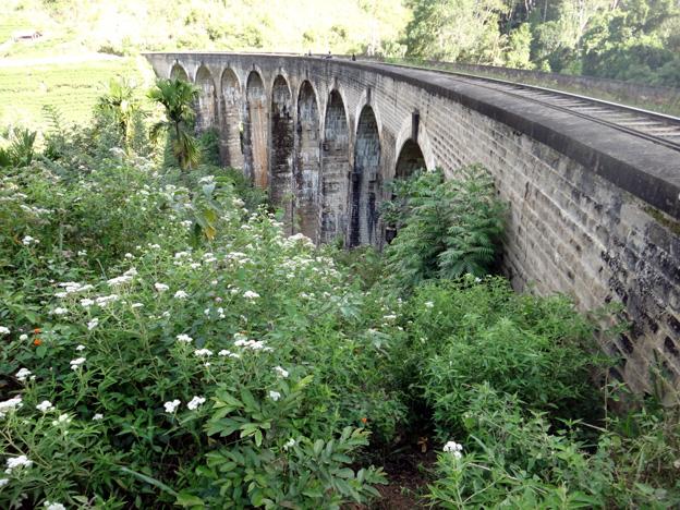 ella pont aux 9 arches chemin de fer sri lanka