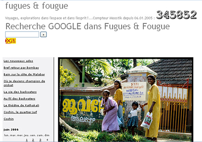 fugues et fougue 2005