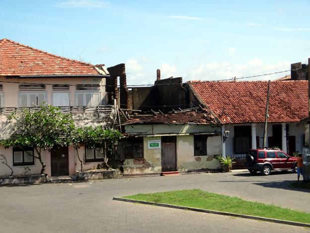 galle maison détruite par le tsunami sri lanka