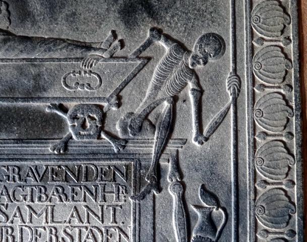 galle pierre tombale eglise groote kerk sri lanka