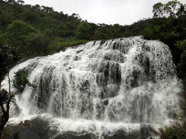 horton plains cascade sri lanka