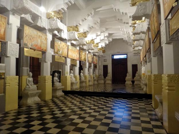 kandy galerie temple de la dent de bouddha sri lanka